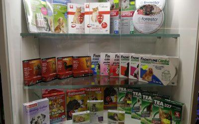 Produkty przeciw pchłom i kleszczom, dla zwierząt w sklepach ZooNemo. Nowa dostawa ryb akwariowych do naszych sklepów