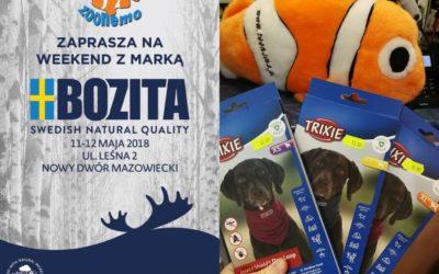 EVENT z firmą Bozita w Nowym Dworze Mazowieckim. Bamdamki dla psów odstraszające owady !