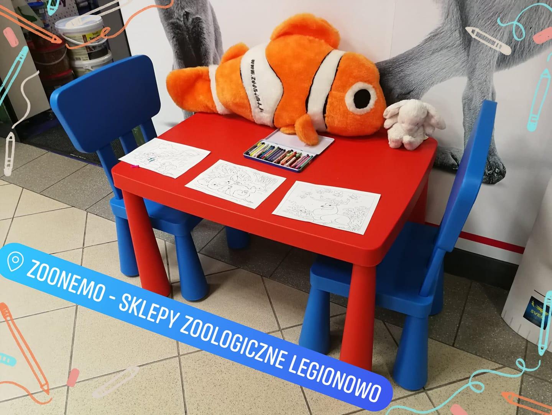 stolik dla dzieci ZooNemo