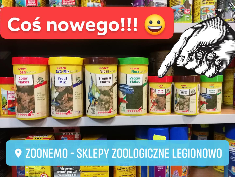 pokarma dla ryb firmy Sera ZooNemo Legionowo