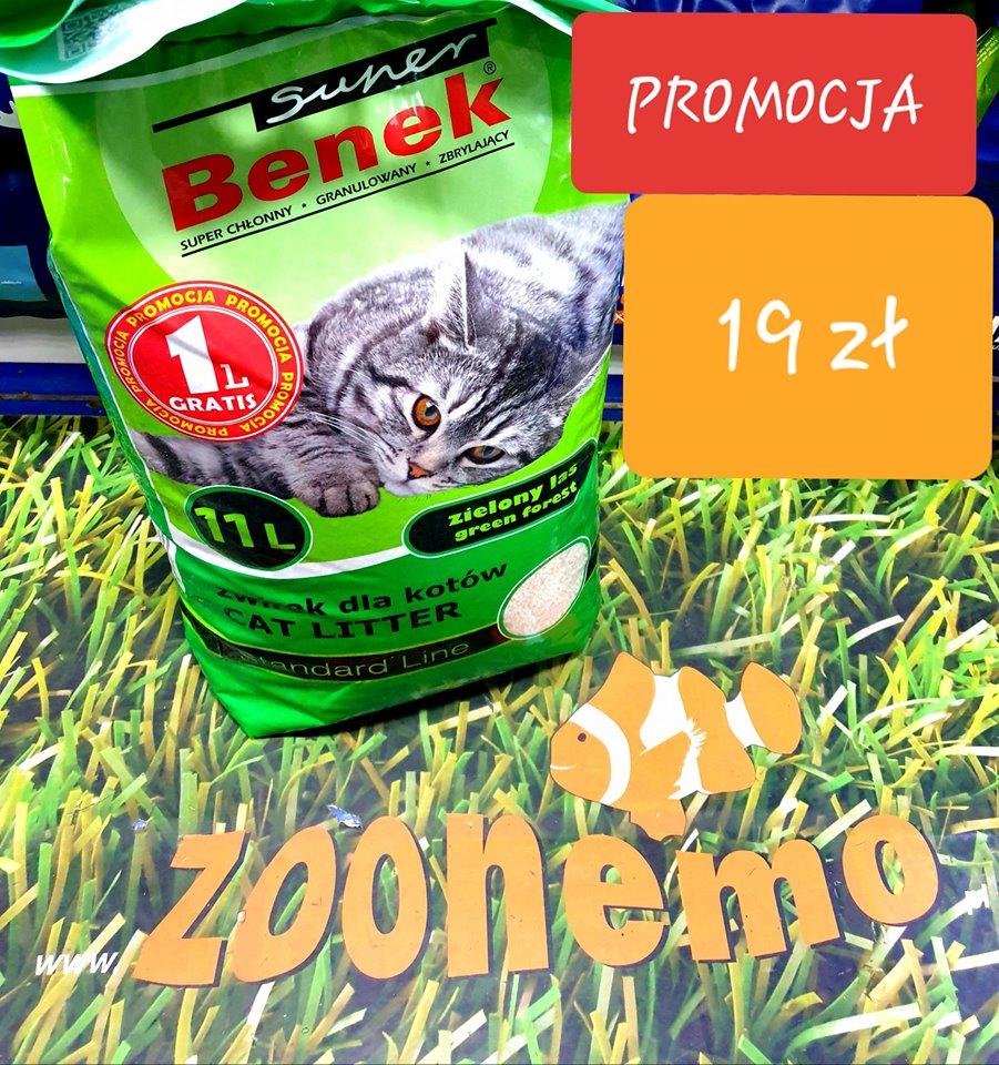 żwirek dla kotów Benek Zoonemo