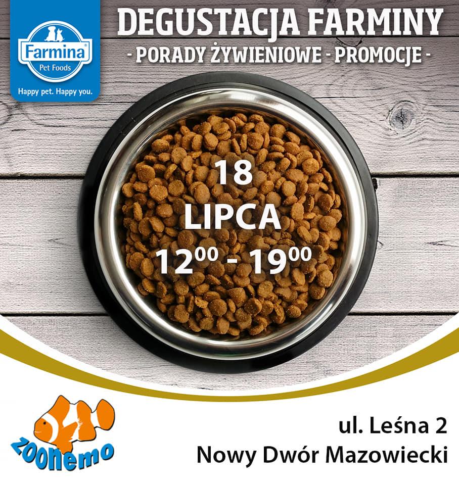 Event z włoską firmą FARMINA Nowy Dwór Mazowiecki ZooNemo