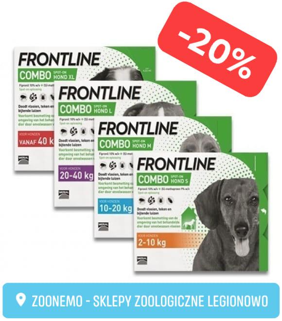Frontline Combo dla PSA ZooNemo Legionowo