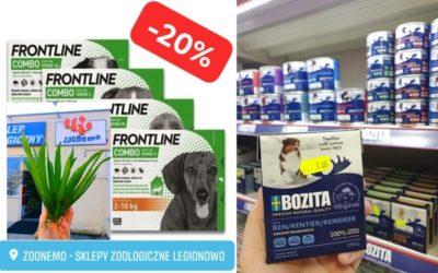 Rośliny do oczka wodnego oraz promocje w naszych punktach sprzedaży