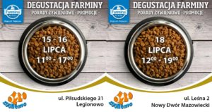 Zapraszamy na Event z włoską firmą FARMINA. Promocje w naszych sklepach