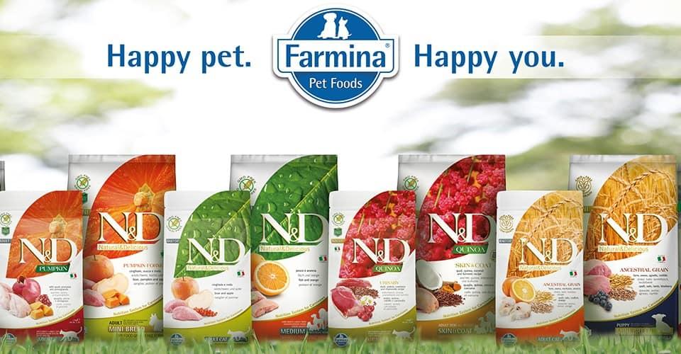 karmy dla psów i kotów FARMINA Legionowo Nowy Dwór Mazowiecki ZooNemo