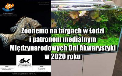 ZooNemo na targach w Łodzi i patronem medialnym Międzynarodowych Dni Akwarystyki w 2020 roku