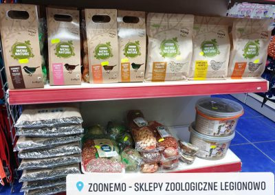 pokarmy dla ptaków zimujących jeży wiewiórek Legionowo Nowy Dwór Mazowiecki ZooNemo 2