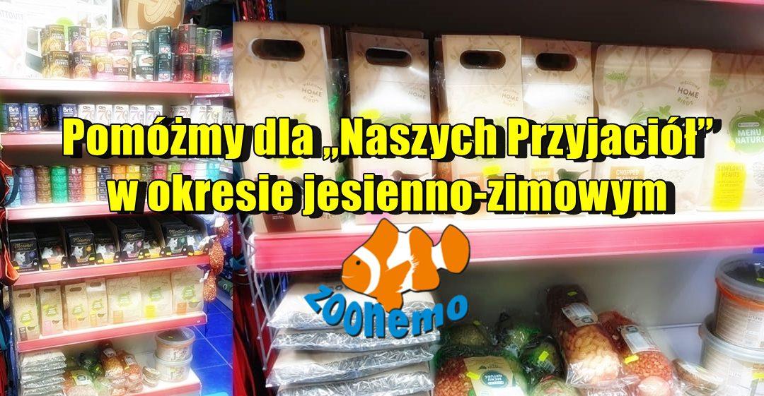pokarmy dla ptaków zimujących jeży wiewiórek Legionowo Nowy Dwór Mazowiecki ZooNemo-horz