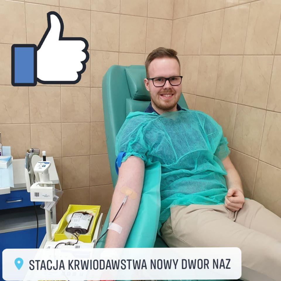 Zoonemo pomagamy honorowi dawcy krwi