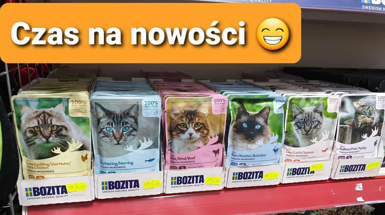 Czas na nowości z firmy Bozita Legionowo Nowy Dwór Mazowiecki ZooNmeo
