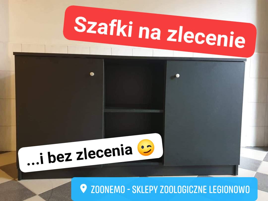 szafki pod akwarium Legionowo Nowy Dwór Mazowiecki Warszawa ZooNemo