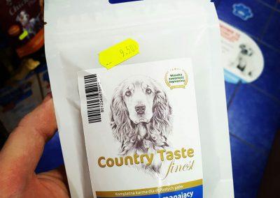 Country Taste przysmaki dla psów Legionowo Nowy Dwór Mazowiecki ZooNemo 2