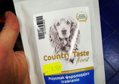 Country Taste przysmaki dla psów Legionowo Nowy Dwór Mazowiecki ZooNemo 5