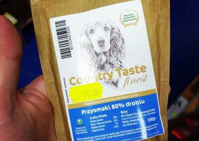 Country Taste przysmaki dla psów Legionowo Nowy Dwór Mazowiecki ZooNemo 6
