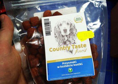 Country Taste przysmaki dla psów Legionowo Nowy Dwór Mazowiecki ZooNemo 8
