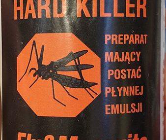HARD KILLER Fly Mosquito SKUTECZNY I WYDAJNY OPRYSK NA KOMARY MUCHY KARALUCHY MRÓWKI I PLUSKWY Legionowo Nowy Dwór Mazowiecki ZooNemo