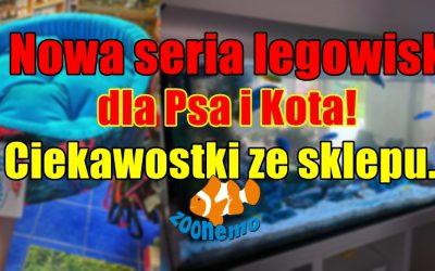 Nowa seria legowisk dla Psa I Kota. Ciekawostki ze sklepu…
