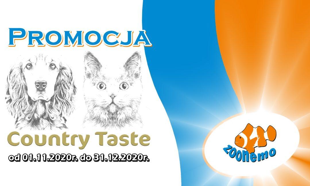 W listopadzie startujemy z promocją marki Country Taste!