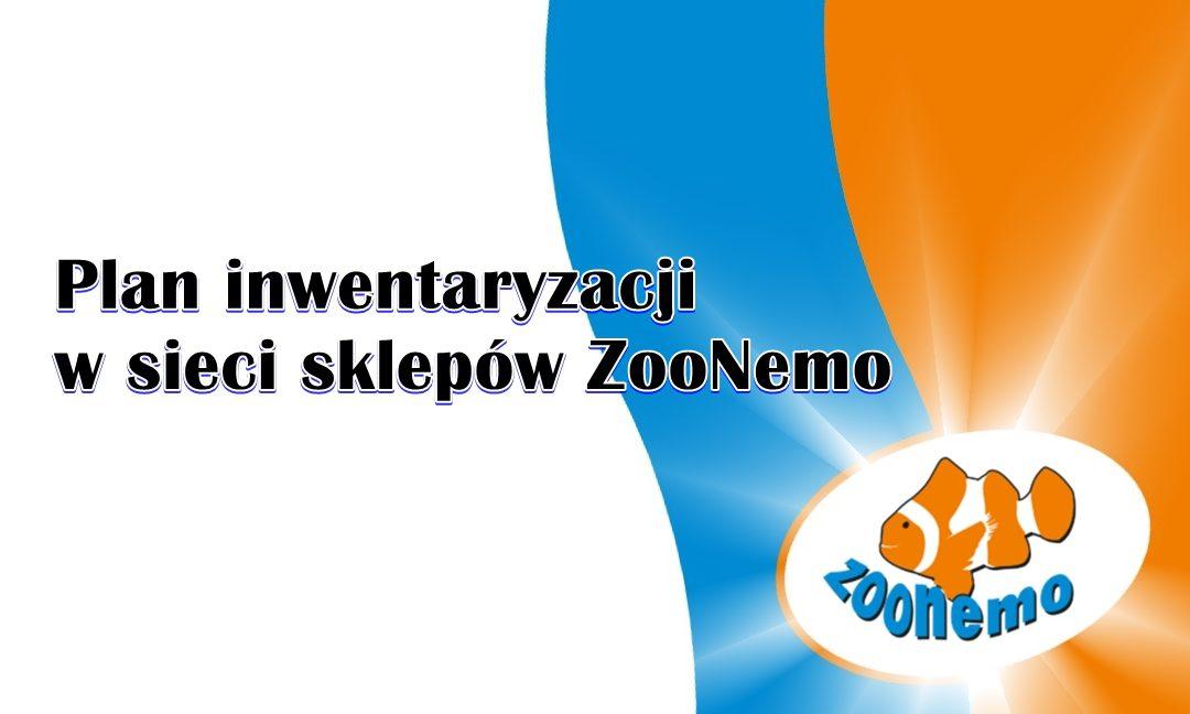 Plan inwentaryzacji w sieci sklepów ZooNemo