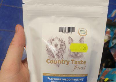 Produkty marki COUNTRY TASTE mogą być podawane i PIESKOM I KOTKOM Legionowo Nowy Dwór Mazowiecki 1