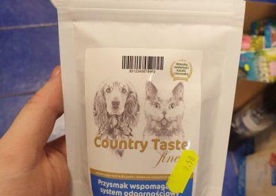 Produkty marki COUNTRY TASTE mogą być podawane i PIESKOM I KOTKOM Legionowo Nowy Dwór Mazowiecki 2