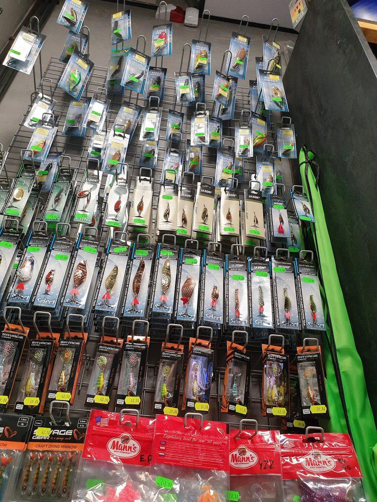 przynęty na ryby sklep wędkarski Legionowo Nowy Dwór mazowiecki